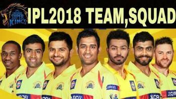IPL 2018 - CSK Squad List