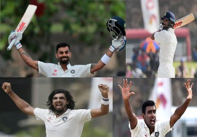 India vs Sri Lanka Test Match Day 2 - 2015